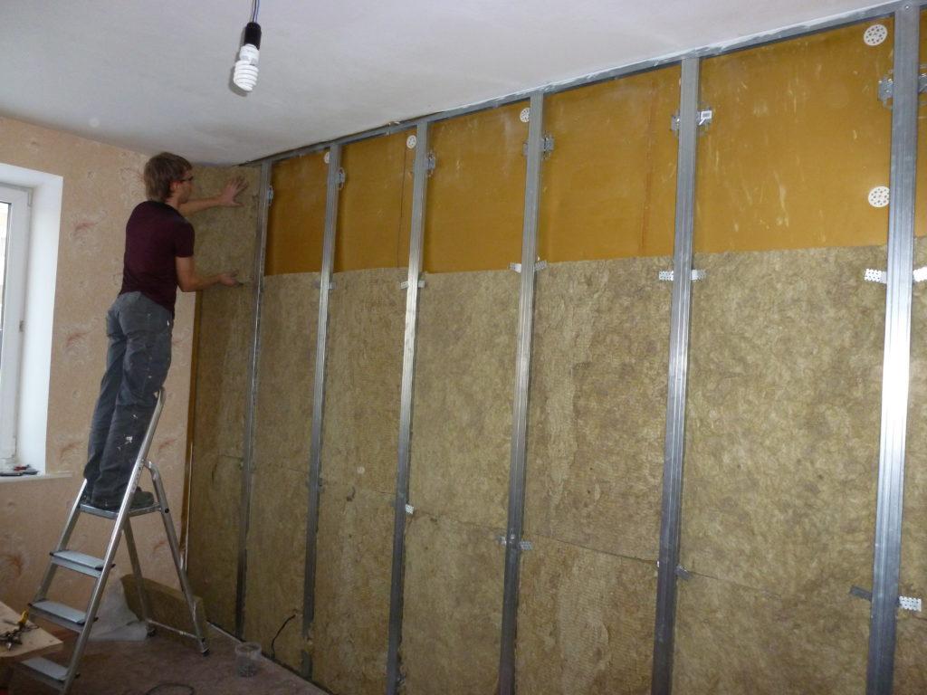 Звукоизоляция стен фото